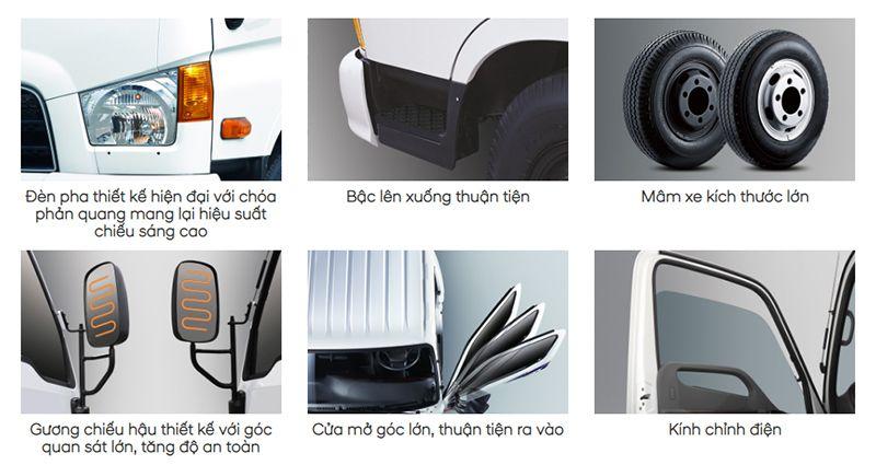 Hyundai 110SL - (Xe tải 7 tấn New Mighty HD110SL) - Hyundai Kinh Bắc